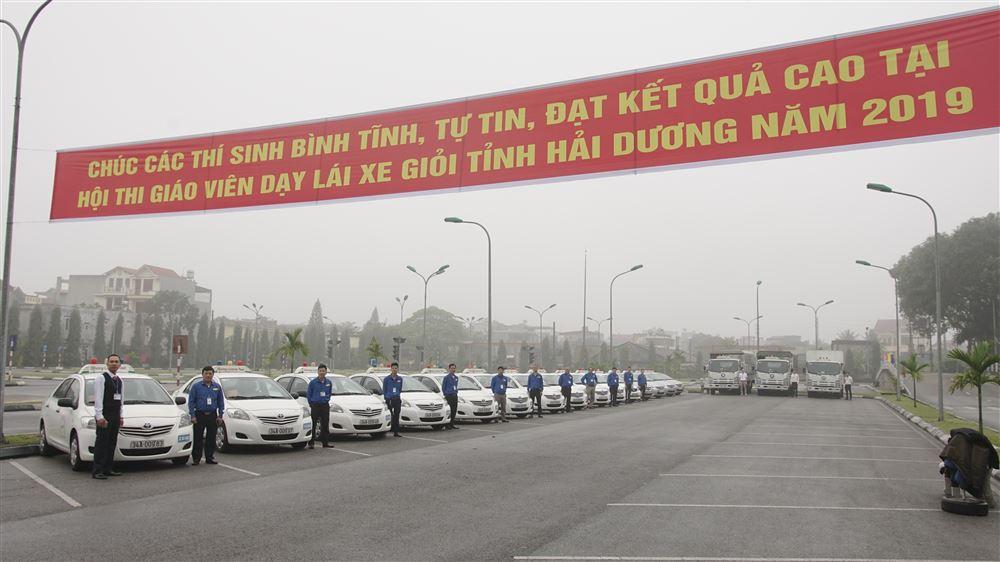 Hội thi Giáo viên dạy lái xe giỏi tỉnh Hải Dương tại trung tâm Lập Phương Thành.