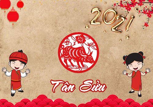 Thư chúc mừng năm mới 2021 Công ty Lập Phương Thành