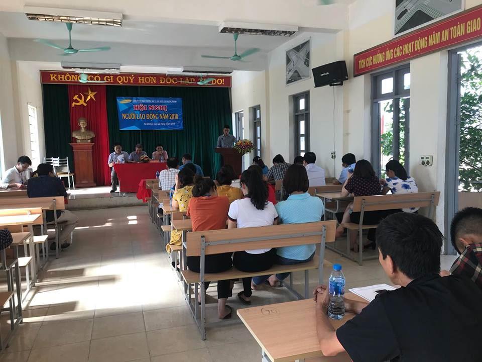 Hội nghị người lao động năm 2018 Công ty cố phần thương mai và sản xuất Lập Phương Thành