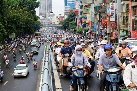 Xe máy - Làm thế nào để đi xe máy an toàn trong nội thành