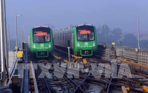 Dự án đường sắt Cát Linh - Hà Đông sẽ vận hành chính thức từ tháng 4/2019
